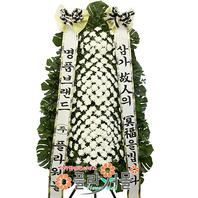 ★[당일배송]부의♣근조화환 3단_ 삼가고인의명복을빕니다 장례화환 장례식꽃 전문_ [플라워몰]