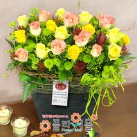 [당일배송]사랑을묻는 그대에게♡ 장미 꽃바구니 꽃다발 생일 기념일 꽃선물_꽃배달당일배송_명품 전국꽃배달_[플라워몰]