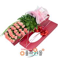 [당일배송]향기로운 그대♡ 장미꽃다발 꽃상자 생일 기념일 꽃선물_전국 당일꽃배달서비스_명품꽃배달[플라워몰]
