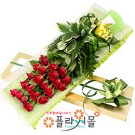 [당일배송]고백♡ 장미꽃다발 꽃상자 생일 기념일 꽃선물 꽃배달당일배송_ 전국꽃배달 전문[플라워몰]