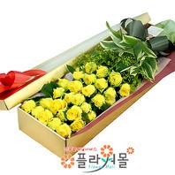 [당일배송]내게 너무 소중한 당신♡ 장미꽃다발 꽃상자 생일 기념일 꽃선물 꽃배달당일배송_ 전국꽃배달 전문[플라워몰]