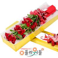 [당일배송]사랑하는 이에게♡ 장미꽃다발 꽃상자 생일 기념일 꽃선물 꽃배달당일배송_ 전국꽃배달 전문[플라워몰]
