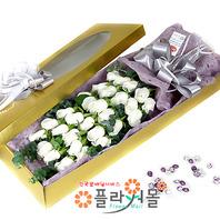 [당일배송]눈부신 그대♡ 장미꽃다발 꽃상자 생일 기념일 꽃선물 꽃배달당일배송_ 전국꽃배달 전문[플라워몰]
