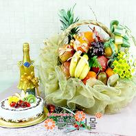 축복1호(꽃과 과일,샴펜(무알콜),케익)