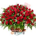 사랑 한아름 100송이 장미_ 장미 꽃바구니 꽃선물 기념일 꽃 플라워몰