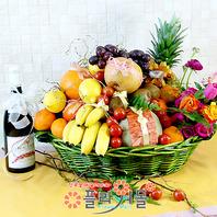 행복1호(특)(꽃과 과일,샴페인(무알콜))