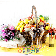 행복2호(특)(꽃과 과일,샴페인(무알콜))