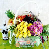 행복4호(꽃과 과일,샴페인(무알콜))
