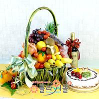 정(情)5호(과일,샴페인(무알콜),케익)